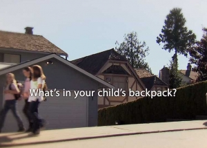 "Still photo from ""The Girls"" Pack it right pack it light TV commercial"