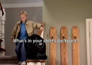 "Still photo from ""The Stairs"" Pack it right pack it light TV commercial"