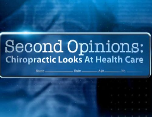 Second Opinions: Chiropractic looks at health care-tv program