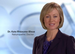 "Still photo from ""Dr. Kate"" PGX TV commercial"