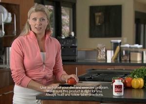 "Still photo from ""Spokesperson"" PGX TV commercial"