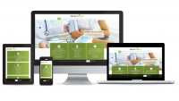 Doctor Reichert website multi device layout