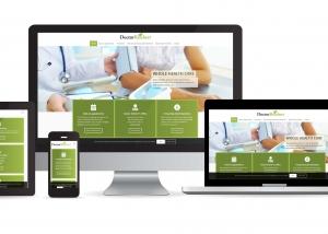 Doctor Reichert website multi device layout