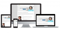 doctor reichert website multidevice layout