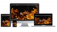 Candela Collective website multidevice layout