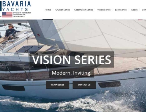 Bavaria-Yachts Website