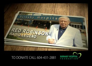 Burnaby Hospital Foundation Red Robinson TV Commercial