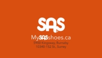 SAS Shoes TV commercial still image