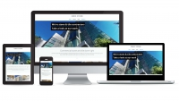 Creostone website multidevice layout