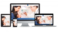 Polycan Health Centre website multidevice layout